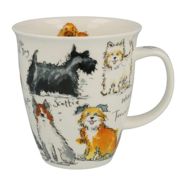 """Dunoon Becher """"Messy Dogs"""", Nevis, 0,48 l"""