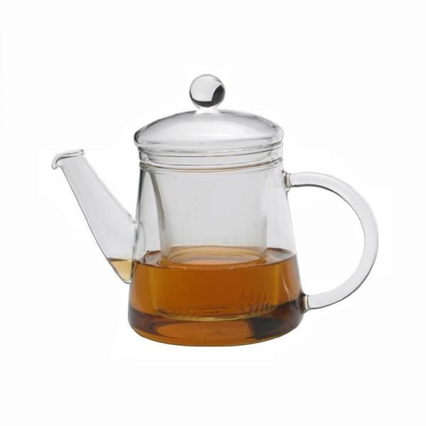 "Trendglas Teekanne ""Puck"", 0,4l, m. Glasfilter"