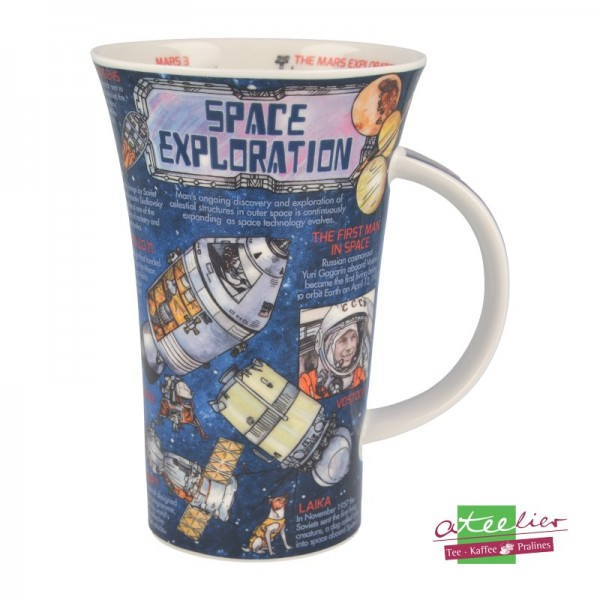 """Dunoon Becher Glencoe """"Space Exploration"""", 0,5 l"""