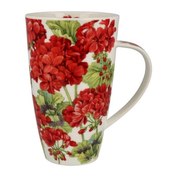 """Dunoon Becher """"Geraniums"""", Henley, 0,6 L"""