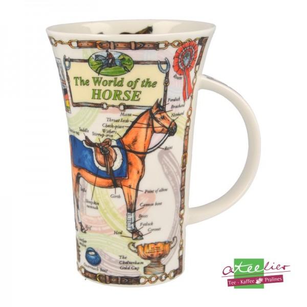 "Dunoon Becher Glencoe ""World of Horse"", 0,5L"