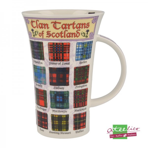 "Dunoon Becher Glencoe ""Clan Tartans of Scotland"", 0,5 l"