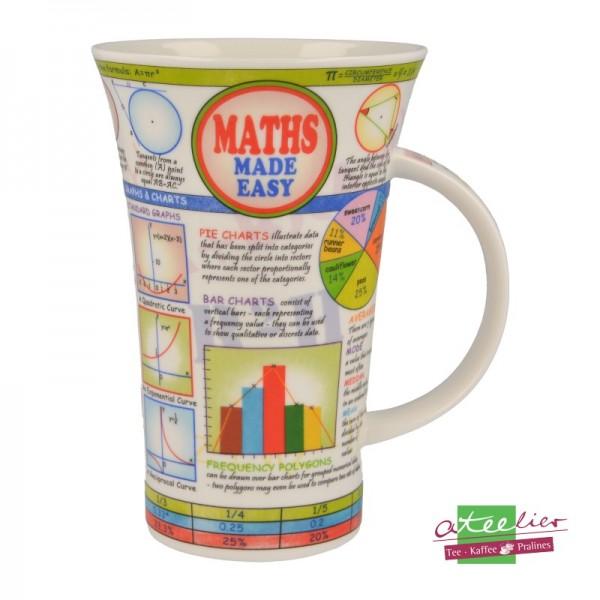 """Dunoon Becher Glencoe """"Maths made Easy"""", 0,5 l"""