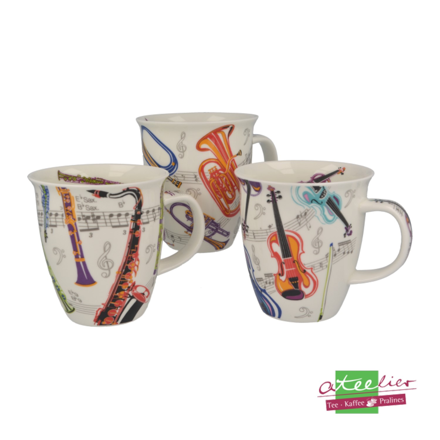 """Dunoon Becher /""""Floral Diary/"""" Nevis 0,48 L"""