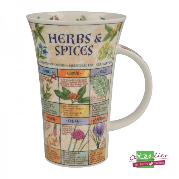 """Dunoon Becher Glencoe """"Herbs & Spices"""", 0,5 l"""