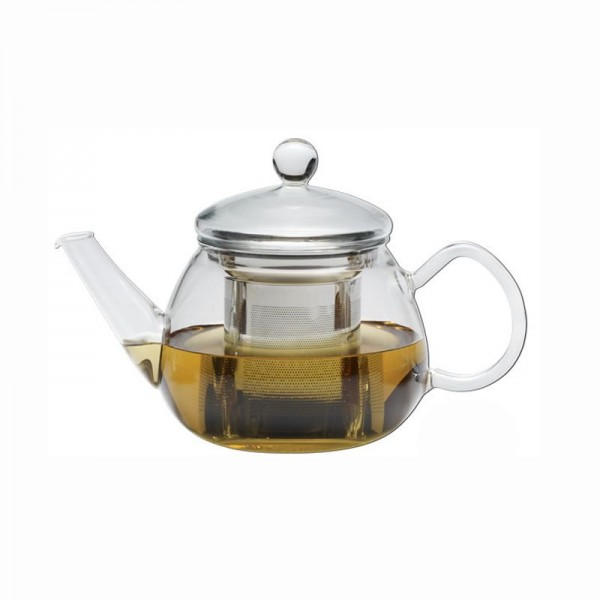 """Trendglas Teekanne """"Pretty Tea I"""", 0,5 l, mit Tülle u. Edelstahlfilter"""