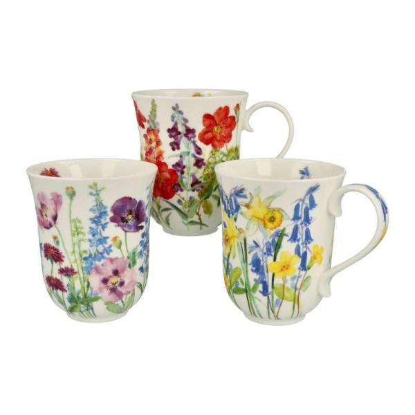 "Dunoon Becher ""Cottage Flowers"", Braemar, 0,33 L"