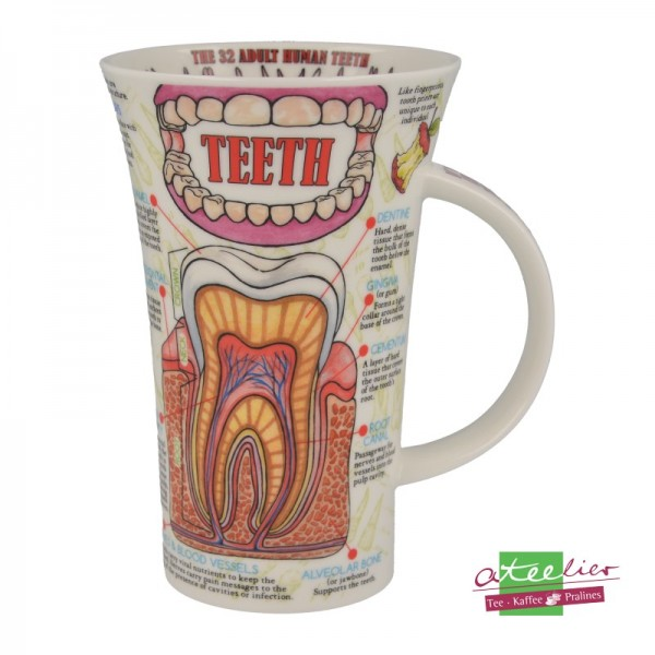 "Dunoon Becher Glencoe ""Teeth"", 0,5 l"