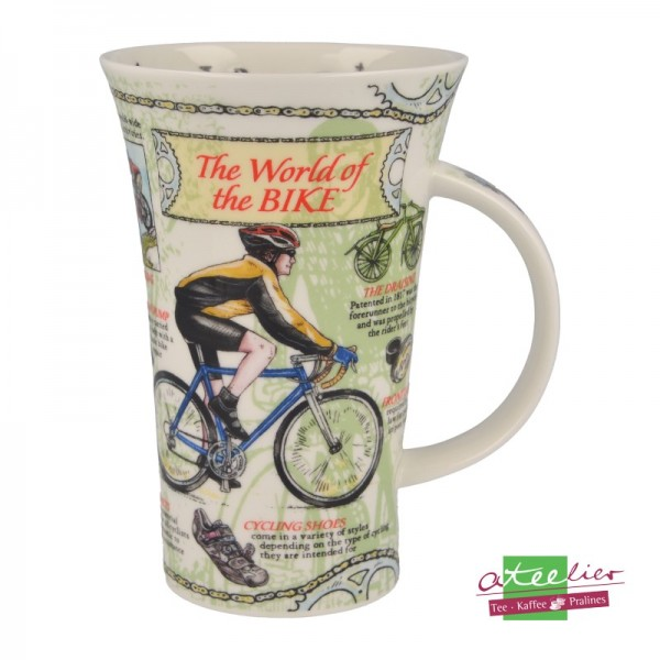 "Dunoon Becher Glencoe ""World of the Bike"", 0,5L"