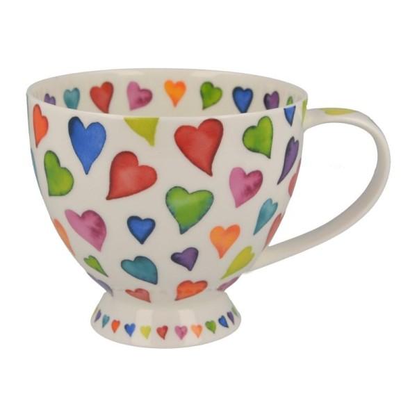 "Dunoon Tasse ""Warm Hearts"", Skye, 0,45 L"