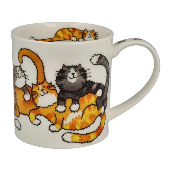 "Dunoon Becher ""Jumbled Cats"", Orkney, 0,35 L"