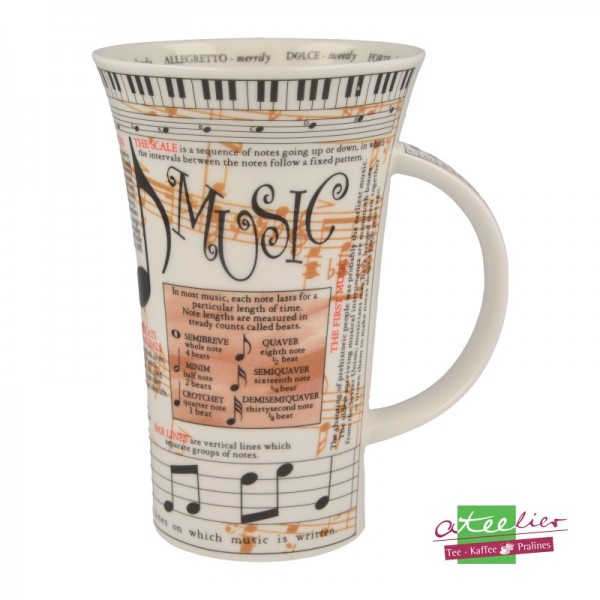 "Dunoon Becher Glencoe ""Music"",0,5 l"
