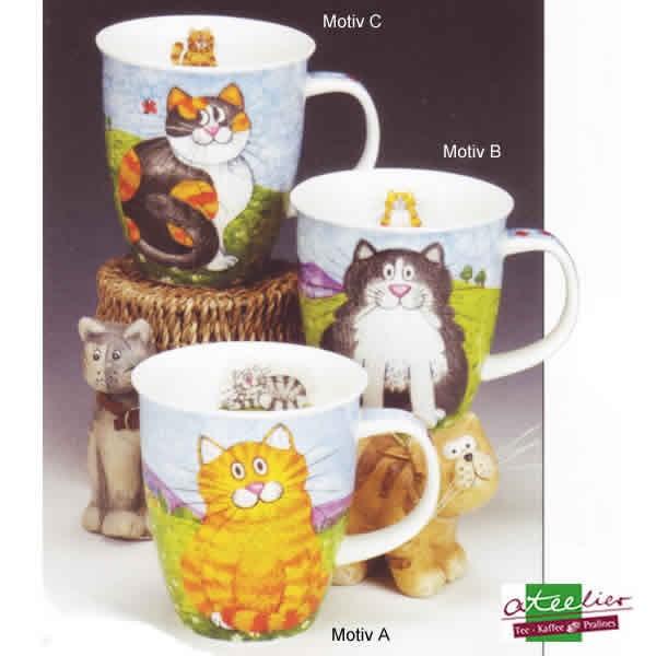 """Dunoon Becher """"Happy Cats"""", Nevis, 0,48 l"""