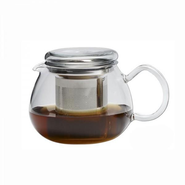 """Trendglas Teekanne """"Pretty Tea II"""", 0,5 l, mit Ausguß u. Edelstahlfilter"""