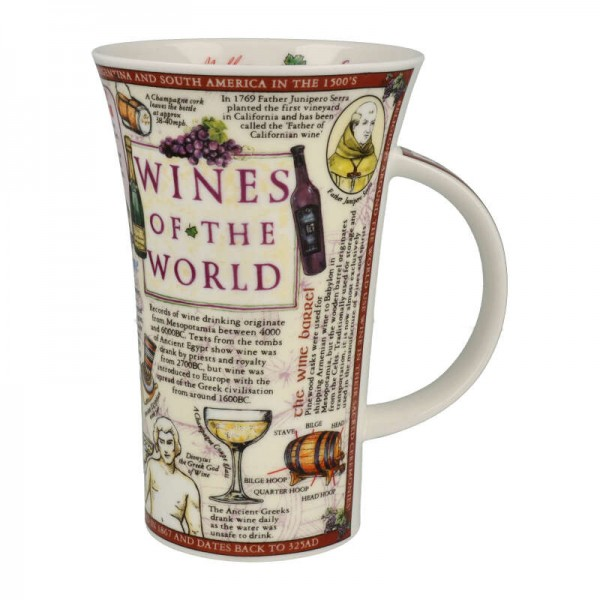 """Dunoon Becher """"Wines of the World"""", Glencoe, 0,5 L"""