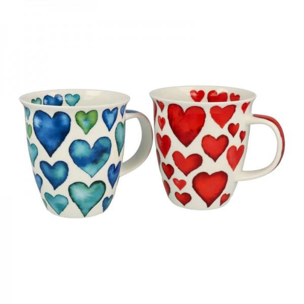 """Dunoon Becher """"Hearts"""", Nevis, 0,48 l"""