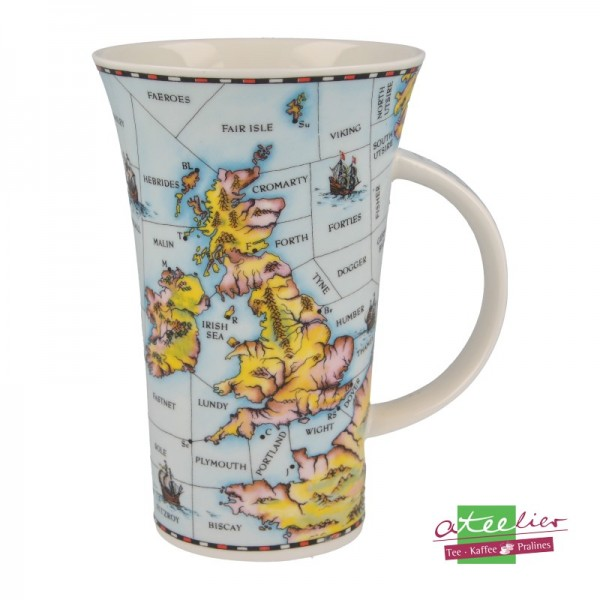 """Dunoon Becher Glencoe """"Shipping Forecast"""", 0,5 l"""
