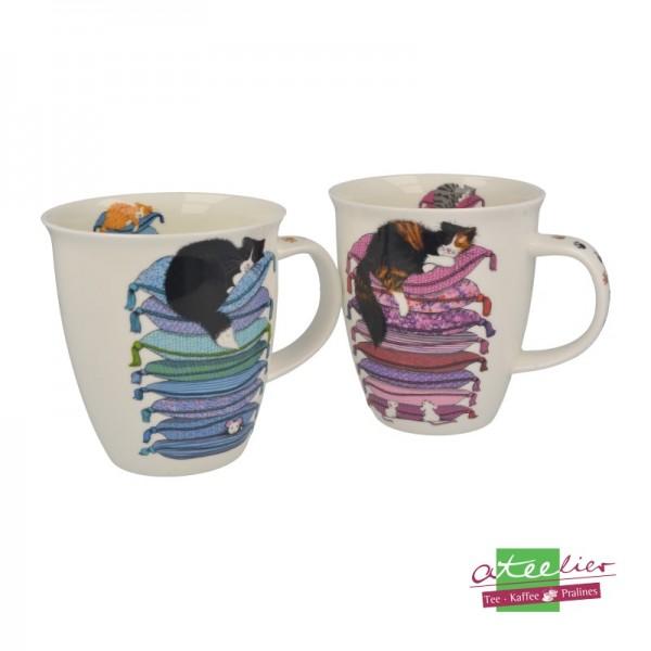 """Dunoon Becher """"Sleepy Cats"""", Nevis, 0,48 l"""