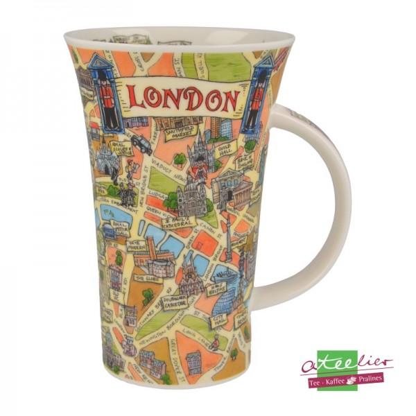 "Dunoon Becher Glencoe ""Tour of London"", 0,5 l"