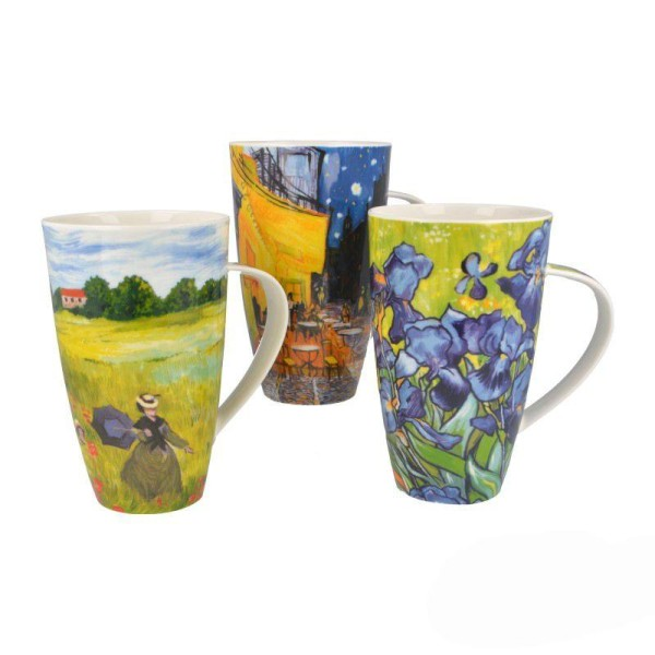 """Dunoon Becher """"Impressionists"""", Henley, 0,6 l"""