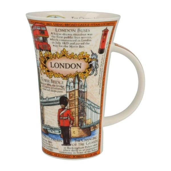 "Dunoon Becher Glencoe ""London Montage"", 0,5 L"