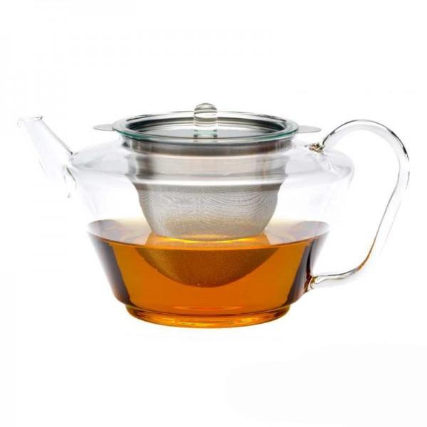 "Trendglas Teekanne ""Solo"", 1,5 l, Glas m. Edelstahlfilter"