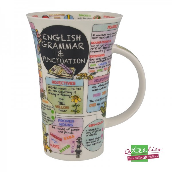 "Dunoon Becher Glencoe ""English Grammar"", 0,5 l"