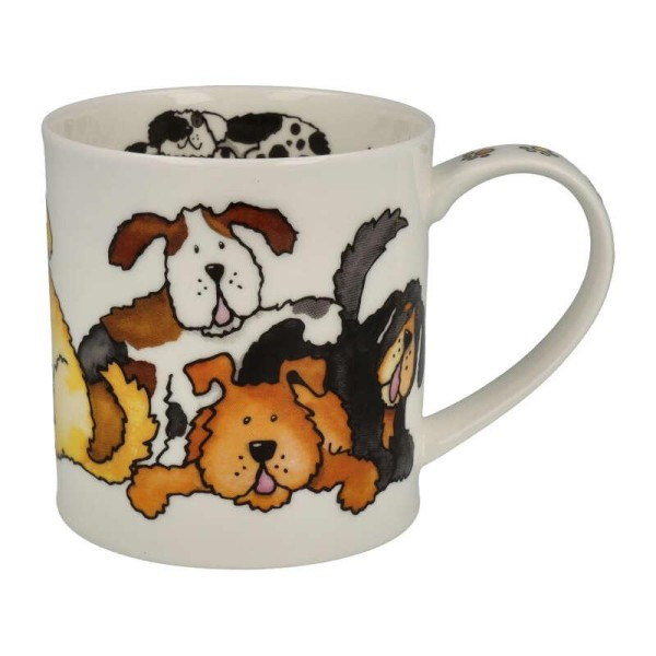 """Dunoon Becher """"Jumbled Dogs"""", Orkney, 0,35 L"""